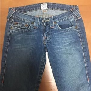 Vintage True Religion Boot Cut Bobby Jeans